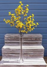 Bunch of 3 Artificial Forsythia Stems ~ Sprays ~ Silk Flowers