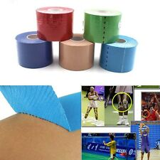 NEW 5M*5CM Kinesiology Athletic Muscle Support Sport Physio Therapeutic Tape