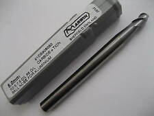 4mm SOLID CARBIDE 3 FLT TiCN COATED BALL NOSED END MILL MARWIN 91EG908040  #P51