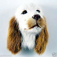 (1) ENGLISH SETTER DOG MAGNET! Very realistic collectible fur refrig. Magnets.