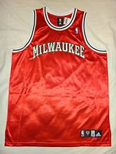 Milwaukee Bucks Adidas Mens NBA Authentic Blank Throwback Jersey Size 52
