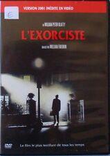 DVD L'EXORCISTE - William FRIEDKIN / Ellen BURSTYN / Max VON SYDOW  VERSION 2001