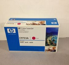 New HP C9723A Magenta Toner Cartridge