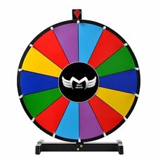 "MegaBrand 24"" Color Prize Wheel of Fortune Trade Show Tabletop Spin Game"