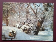 POSTCARD SOCIAL HISTORY WINTER'S MANTLE A SNOWY SCENE IN GLOUCESTER