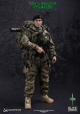 "DAM Toys 1/6 Scale 12"" Elite Series  Royal Marines Commando Action Figure 78023"