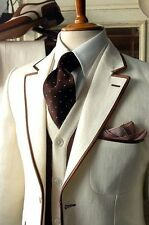 New Fashion Best Man Groomsmen Suit Wedding Groom Tuxedo Hot Men Business Suit