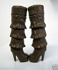 BARBIE DOLL CLOTHES/SHOES *MATTEL TALL BOOTS    *NEW*  #1050