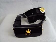 British Military RLC Royal Logistic Corps Bandsman's Black Patent Pouch