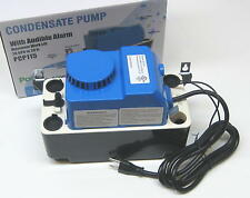 Air Conditioning Condensate Removal Pump with Safety Switch and Alarm 20' Lift