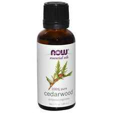 Cedarwood (100% Pure), 1 oz - NOW Foods Essential Oils Fast 1st Class Shipping