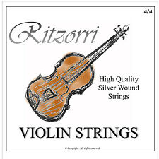 High Quality Violin String 'E' 4/4 3/4 - Silverwound -  Superb Sound