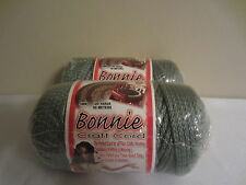 Lot of 2 rolls of Sage Green 4mm Bonnie Braid Braided Macrame Craft Cord 200yds