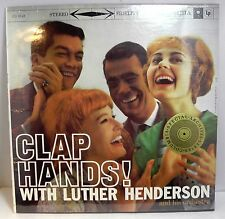 CLAP HANDS! with LUTHER HENDERSON ** Sealed LP (M/M)