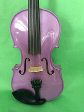 Nice Colorful violin 4/4 purple or pink for your choose