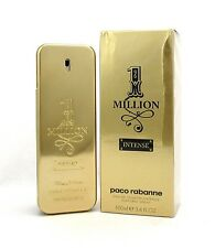 1 Million Intense by Paco Rabanne EDT Spray 3.4oz /100ml for Men New Damaged Box