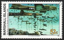 WWII 1944 USAAF Boeing B-17 FLYING FORTRESS (Bombing Germany) Aircraft Stamp