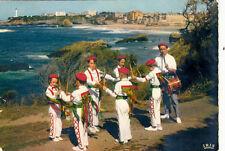 SCENE ET TYPES DU PAYS BASQUE 773 danse des petits bâtons groupe chelitztarrak