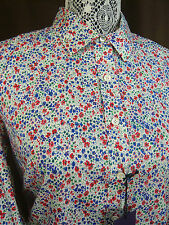 NWT J. CREW LIBERTY PERFECT COTTON SHIRT IN PHOEBE FLORAL PRINT SIZE 6 Rtl $150