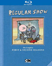 Regular Show: The Complete First  Second Seasons (Blu-ray Disc, 2013, 2-Disc Set