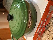 Le Creuset 6 3/4 6.75 Qt Wide Round French Dutch Oven Rosemary New with Box