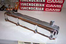 Offenhauser Offy Slant 6 valve cover, finned aluminum polished