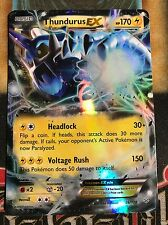 Pokemon Thundurus EX 26/108 XY Roaring Skies Ultra Rare Holo NM