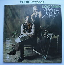 LLOYD GREEN - Steel Rides - Excellent Condition  LP Record Monument MNT 81245
