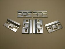 Wall hanging plate bracket kitchen wall cabinets cupboards, pack 6, British made