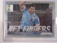 2014 Panini Prizm FIFA  World Cup Soccer  Net Finders  Luis Suarez of Uruguay
