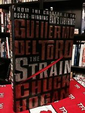 The Strain Signed by Guillermo Del Toro and Chuck Hogan 1st Edition HC