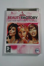 ~ BEAUTY FACTORY ~ PC CD-ROM FOR WINDOWS BEAUTY SHOP SIMULATION GAME BRAND NEW
