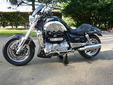 TRIUMPH ROCKET 3 CUSTOM TWIN SILENCERS and CAT REPLACEMENT