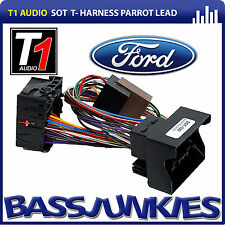 Ford Fiesta 2005 - 2008 Car Bluetooth Parrot SOT Lead T-Harness ISO Lead SOT-092