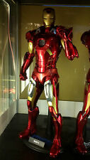 Play Imaginative Super Alloy iron man Mark 7 With Hall of Armour Not batman HOA