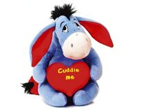 "NEW 12"" DISNEY EEYORE HEARTS PLUSH SOFT TOY FRIEND OF WINNIE THE POOH"