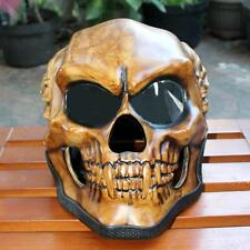 Skeleton Skull 3D Airbrush Motorcycle Helmet New Ghost Fullface S/M/L (YOUTH)