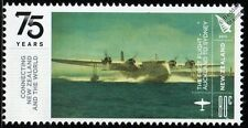 TEAL SHORT EMPIRE S.30 Aotearoa ZK-AMA Flying Boat Seaplane Aircraft Stamp 2015