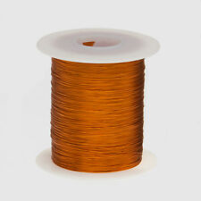 "22 AWG Gauge Enameled Copper Magnet Wire 4oz 125' Length 0.0273"" 200C Natural"