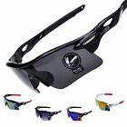 Sports Sunglasses Cycling Glasses Mens Sport Bike UV400 Driving Lens Outdoor Sun