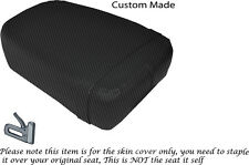 CARBON FIBRE VINYL CUSTOM FITS KINROAD XT 125 16 REAR SEAT COVER ONLY