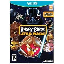 WII U ANGRY BIRDS Star Wars BRAND NEW FACTORY SEALED