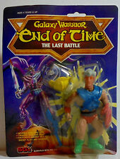 SUNGOLD VTG 80's GALAXY WARRIOR END OF TIME LAST BATTLE MOTU ACTION FIGURE MOSC