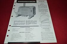 Minneapolis Moline D336A-4A Power Unit Dealer's Brochure YABE8
