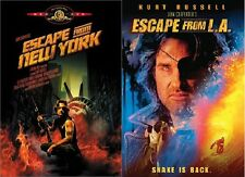 Escape from New York + Escape from LA (DVD, Widescreen) Kurt Russell NEW
