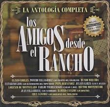 CD - Los Amigos Desde El Rancho NEW 2CD's / 1 DVD La Antologia FAST SHIPPING !