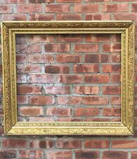 Large And Superb 19th Century Gold Gilded Gesso Mold Victorian Picture Frame