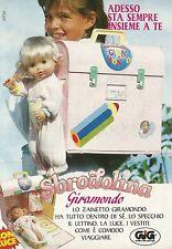 X4390 Sbrodolina Giramondo - GIG - Pubblicità 1991 - Advertising
