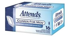 Attends Male Guards, Bladder Control Pad Guards For Men, MG0400 - Case of 64