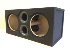 "Custom Ported Sub Box Enclosure for 2 12"" American Bass XFL Subs 4.6 CU FT 34 Hz"